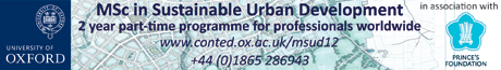MSc in Sustainable Urban Development