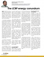 The LCBP Energy Conundrum
